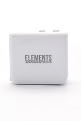 Elements Dual USB Smartphone Wall Super Fast Charger