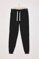 Unisex Jogger Sweat Pants by Terranova - Black