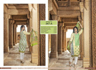 Irma Embroidered Chiffon and Lawn Design 347-A