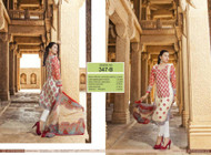 Irma Embroidered Chiffon and Lawn Design 347-B