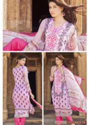 Irma Embroidered Chiffon and Lawn Design 348-B