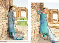 Irma Embroidered Chiffon and Lawn Design 351-A