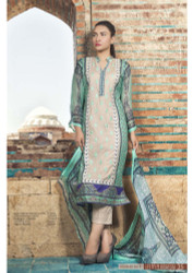 Irma Embroidered Chiffon and Lawn Design 352-B