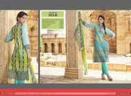 Irma Embroidered Chiffon and Lawn Design 353-B
