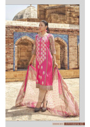 Irma Embroidered Chiffon and Lawn Design 354-A