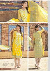 Irma Embroidered Chiffon and Lawn Design 354-B