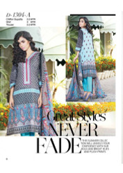 Gloria Exclusive Lawn Collection Design 1304-A