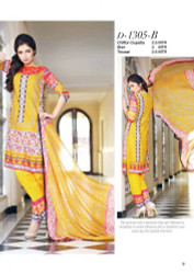 Gloria Exclusive Lawn Collection Design 1305-B