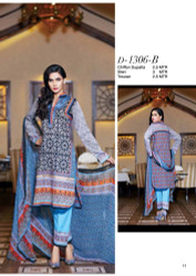 Gloria Exclusive Lawn Collection Design 1306-B