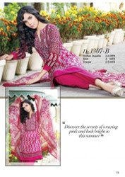 Gloria Exclusive Lawn Collection Design 1307-B