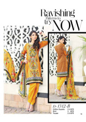 Gloria Exclusive Lawn Collection Design 1312-B