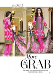 Gloria Exclusive Lawn Collection Design 1315-B