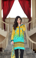 3 Piece Embroidered Suit by LSM Design GS-4B