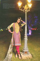 Colors Embroidered Lawn Collection D-0010A