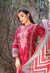 Riwaj Designer Embroidered Lawn 2016 by Shariq Textiles Design 04B