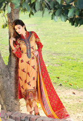 Riwaj Designer Embroidered Lawn 2016 by Shariq Textiles Design 07A