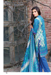 Riwaj Designer Embroidered Lawn 2016 by Shariq Textiles Design 09B