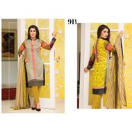 Alisha Memon Embroidered Collection Design AM16L-9B