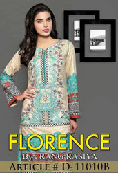 Florence Embroidered Lawn Design 11010-B