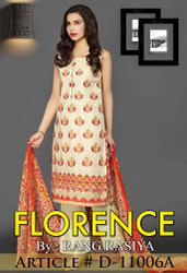 Florence Embroidered Lawn Design 11006-A