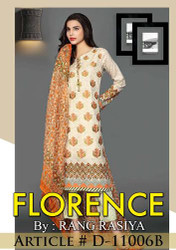 Florence Embroidered Lawn Design 11006-B