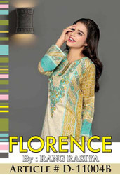 Florence Embroidered Lawn Design 11004-B