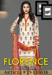 Florence Embroidered Lawn Design 11003-B