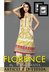 Florence Embroidered Lawn Design 11010-A