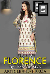 Florence Embroidered Lawn Design 11003-A