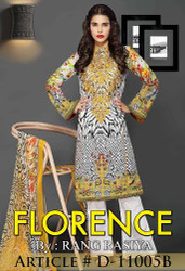 Florence Embroidered Lawn Design 11005-B