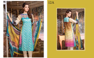 Alizeh Designer Embroidered Eid Collection Design 12A