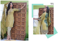 Ayesha Chottani Designer Embroidered Eid Collection Design 9A