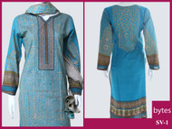 Taabiir Pret Eid Collection 3 Piece Suit SV-1