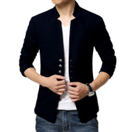 Men's Basic Blazer by Tee Tall - Black