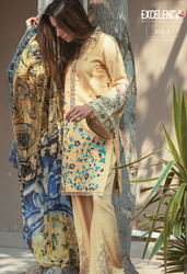 Firdous Excelencia Embroidered Exclusives Vol 3 EES-3