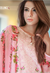 Firdous Excelencia Embroidered Exclusives Vol 3 EES-4
