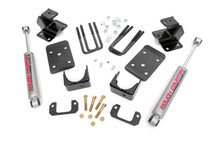 "2014 Chevy/GMC 1500 2WD 2""/4"" Lowering Kit"