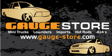 Gauge Store Mini Trucker Banner 2x4