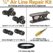 "1/4 "" airline repair kit"