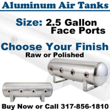 2.5 Gallon Aluminum Air Tanks