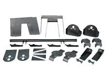 Complete Torsion Truck Bag Bracket Kit
