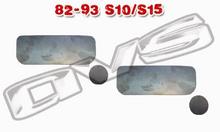 82-93 Chevy S10 Shaved AVS Door Handle Filler Plate