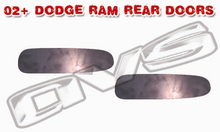 02-06 Dodge Ram AVS Shaved Door Handle Filler Plate (Rear Doors)