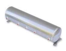 "Air Tank- 5 Gallon Aluminum w/ 5x-1/4"" Ports & 1x-1/8"" Port"