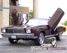 Vertical Doors 1970-1972 CHEVY MONTE CARLO Bolt on Lambo Door Kit
