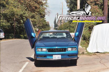 Vertical Doors 1979-1988 CHEVY MONTE CARLO Bolt on Lambo Door Kit