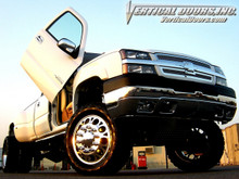 Vertical Doors 1999-2006 CHEVY SILVERADO Bolt on Lambo Door Kit