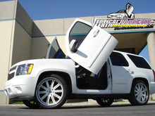 Vertical Doors 2000-2006 CHEVY TAHOE Bolt on Lambo Door Kit