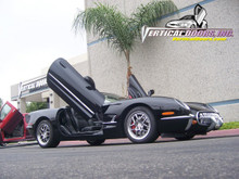 Vertical Doors 1997-2004 CHEVY CORVETTE Bolt on Lambo Door Kit