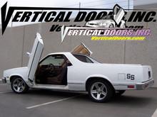 Vertical Doors 1978-1987 CHEVY EL CAMINO  Bolt on Lambo Door Kit